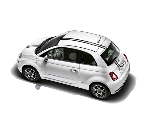 fiat 500 accessoires auto voiture citadine confortable. Black Bedroom Furniture Sets. Home Design Ideas