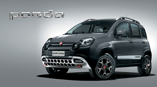 nieuwe fiat panda cross compacte suv auto. Black Bedroom Furniture Sets. Home Design Ideas