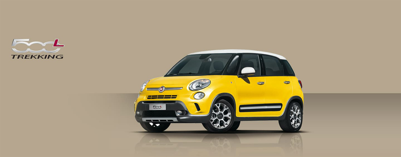 Fiat 500l trekking version crossover