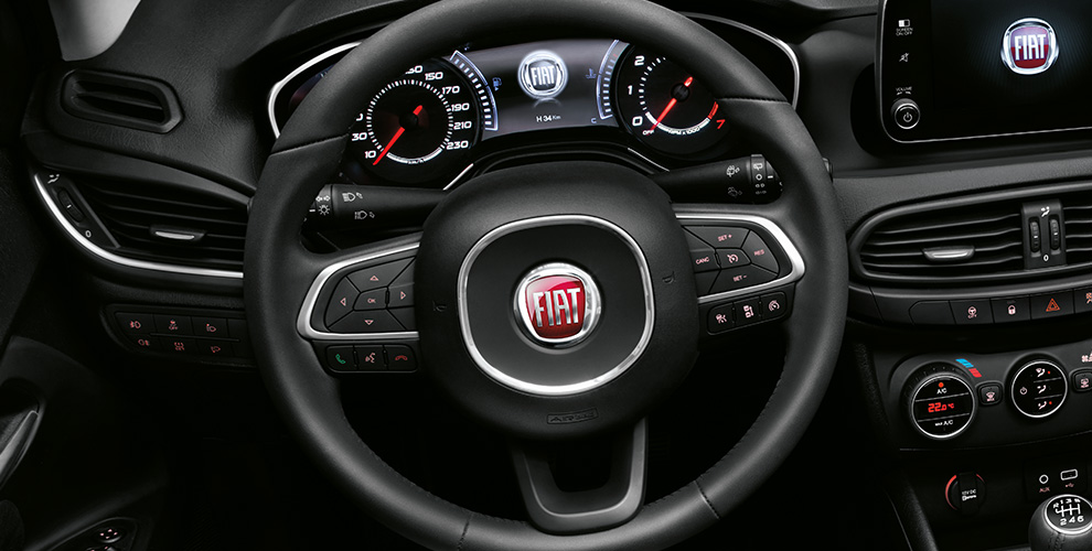 Fiat tipo hatchback int rieur spacieux fiat for Interieur fiat tipo
