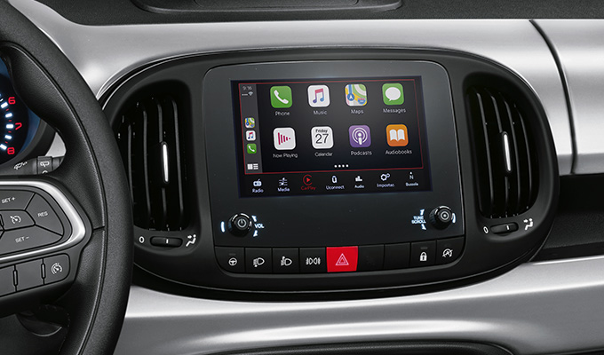 7'' radio met Apple CarPlay/Android Auto™