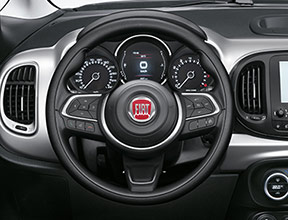 """SOFT TOUCH"" STEERING WHEEL"