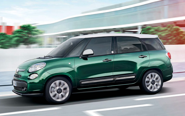 fiat 500l living compacte mpv 7 persoons auto. Black Bedroom Furniture Sets. Home Design Ideas