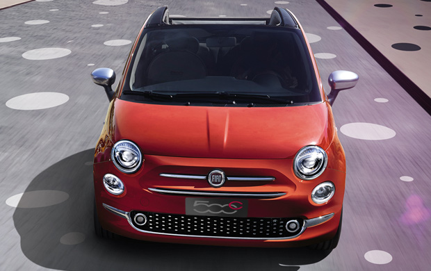 fiat 500c kleine cabriolet met stijl en comfort. Black Bedroom Furniture Sets. Home Design Ideas